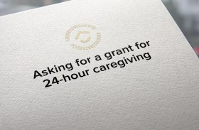 Asking for a grant for 24-hour caregiving
