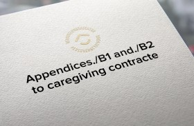 Appendices./B1 and./B2 to caregiving contract
