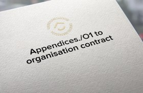 Appendices./O1 to organisation contract