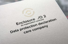 Data protection declaration care company